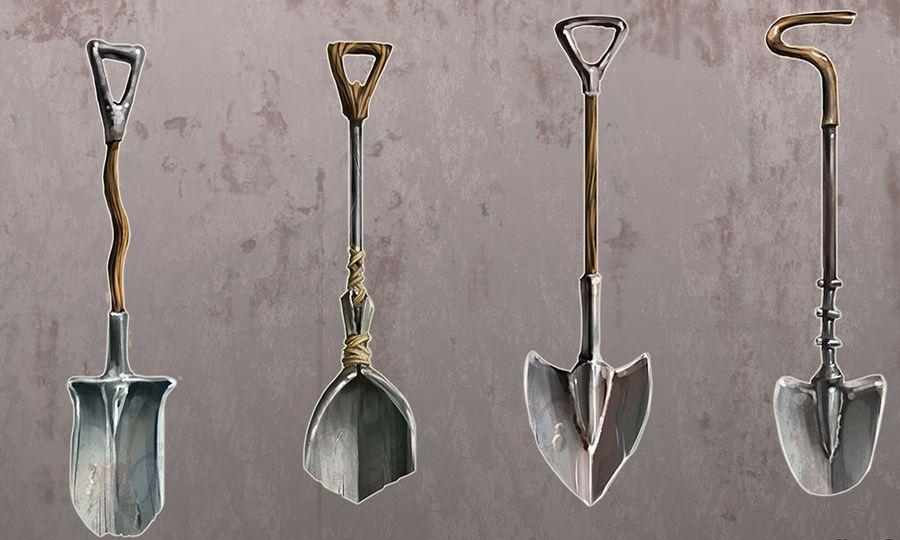 Лопаты для игры Rust