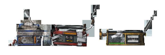 Магнитофоны для игры Rust