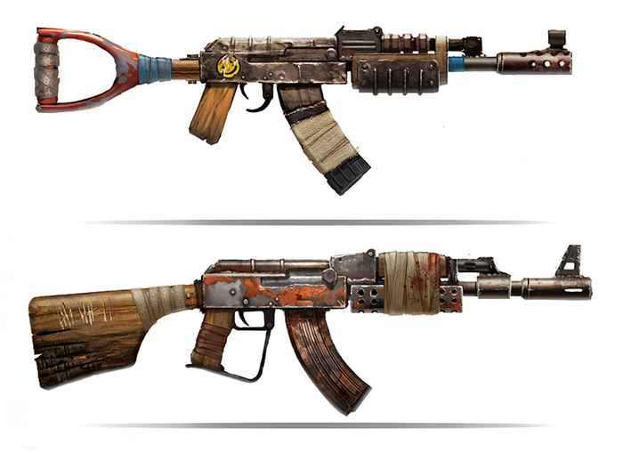 Автоматы для игры Rust
