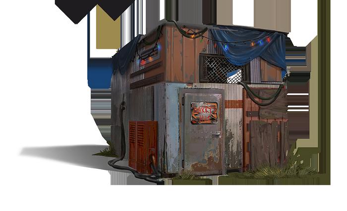 Новые здания в игре Rust