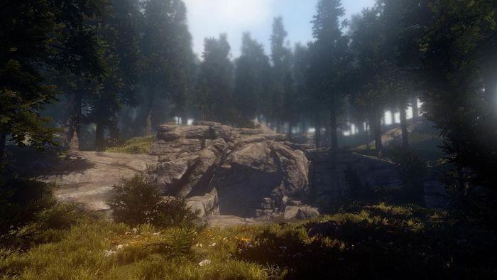 Пещеры в игре Rust 01