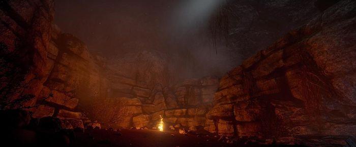 Пещеры в игре Rust 02