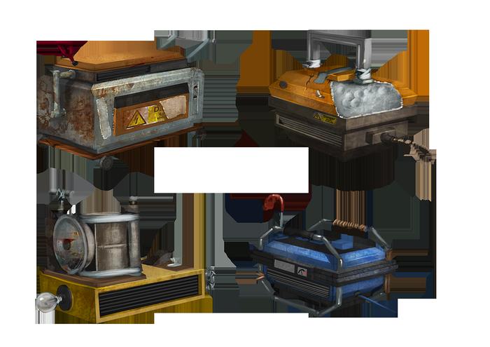 Генератор света в игре Rust