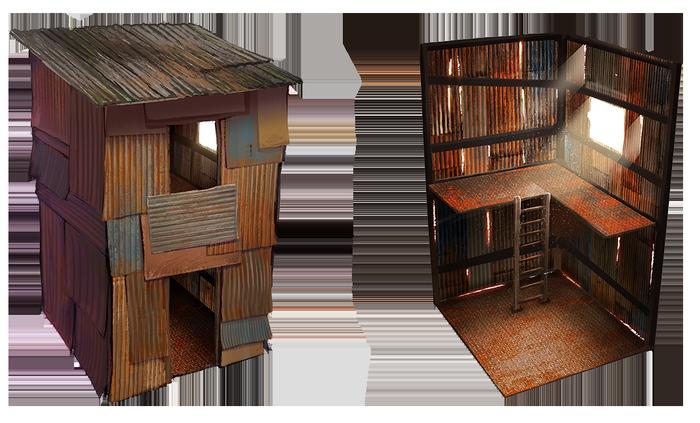 Лестница в игре Rust