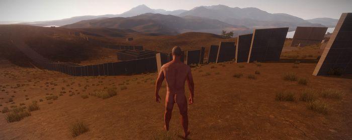 Стены в игре Rust 01