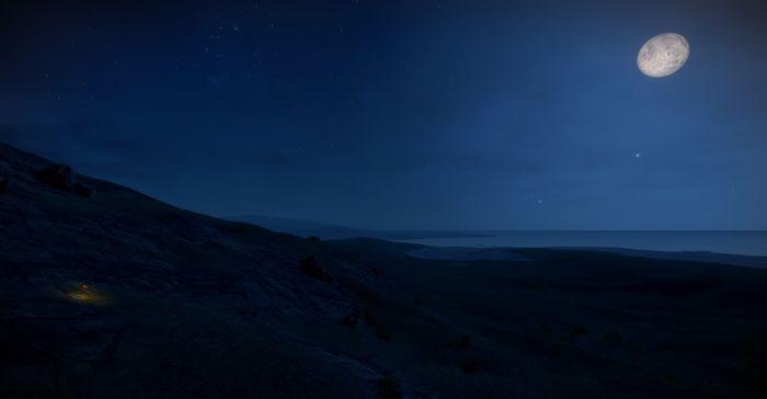 Холодные ночи в игре Rust