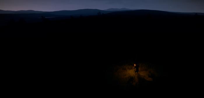 Факел в игре Rust