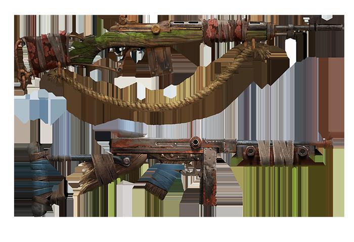 Концепты оружия для игры Rust