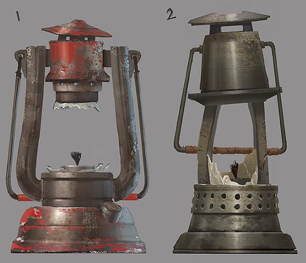 лампы в Rust