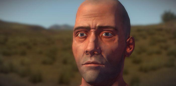 обновленная модель игрока в Rust