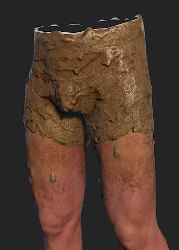 Одежда из грязи в игре Rust