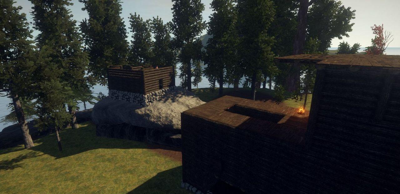 Строительство на скалах в Rust