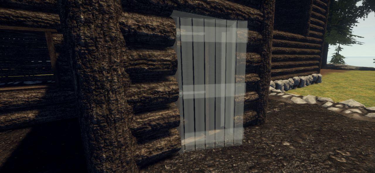 Установка новой двери в Rust