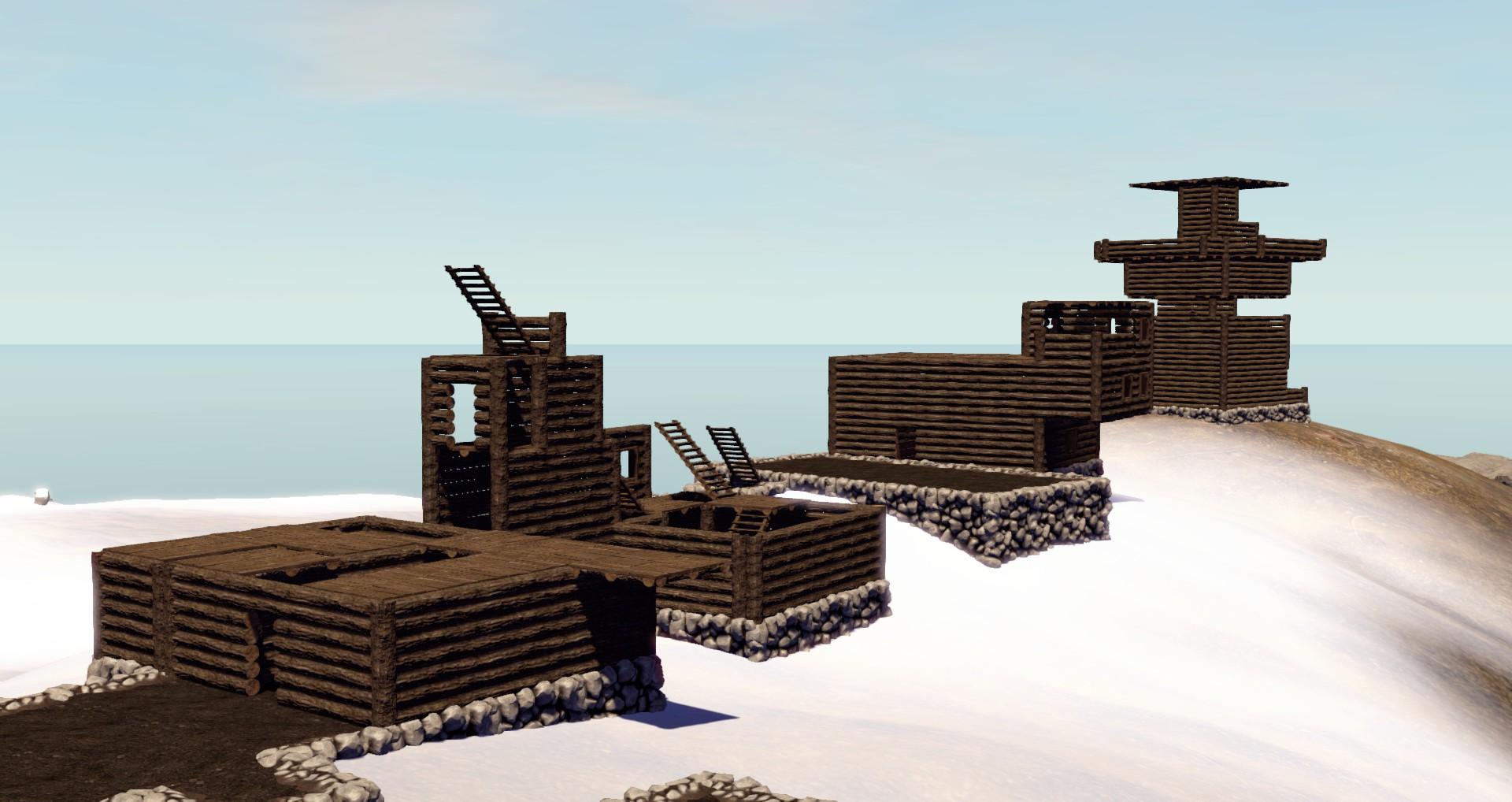 Деревня на вершине