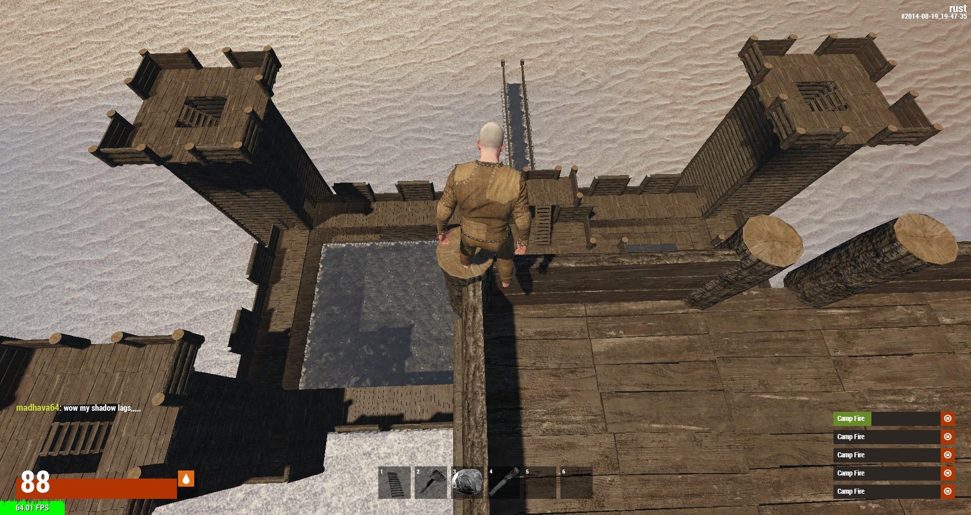 Вид с верхней башни
