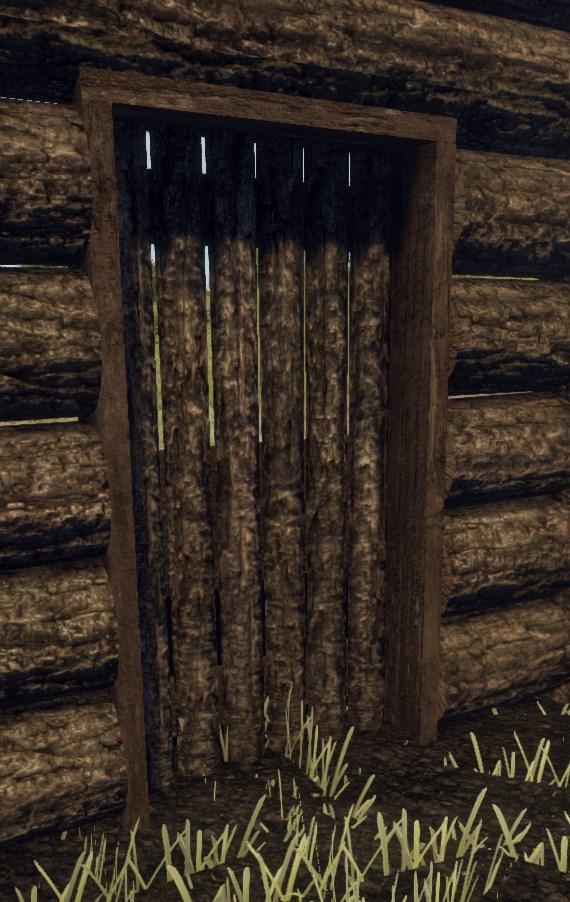 Текстуры деревянной двери в Rust
