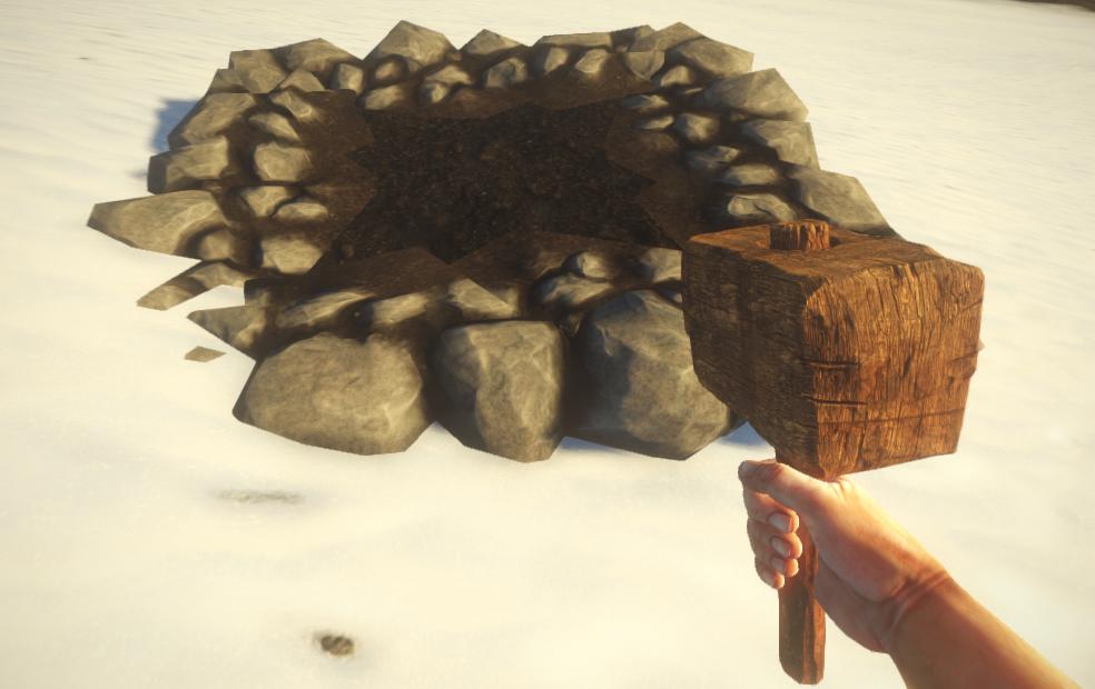 Готовый фундамент в Rust Experimental