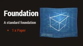 Фундамент (Foundation) Строительного плана (Building Plan)