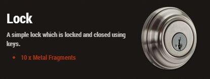 Дверной замок (Lock)