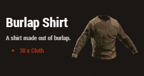 Рубашка из мешковины (Burlap Shirt)