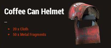 Шлем из кофейной банки (Coffe Can Helmet)