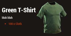 Зеленая футболка (Green T-Shirt)