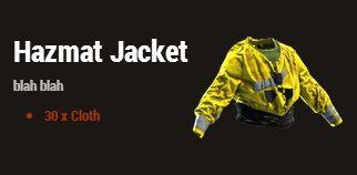 Антирадиационная куртка (Hazmat Jacket)