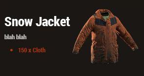 Зимняя куртка (Snow Jacket)