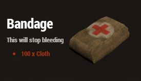 Бинт (Bandage)