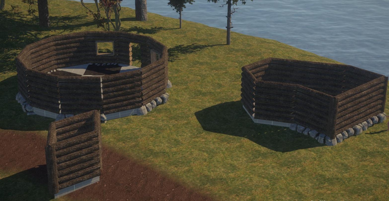 Треугольные постройки