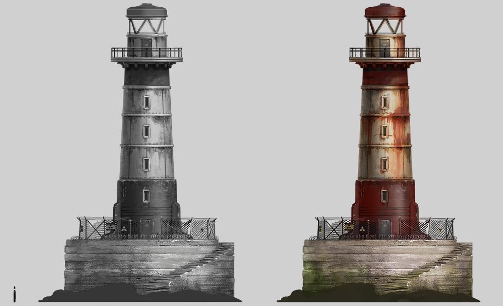 Вторая пара маяков