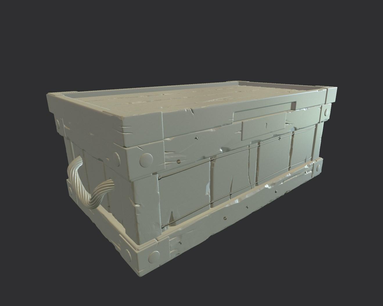 Запираемый ящик 2