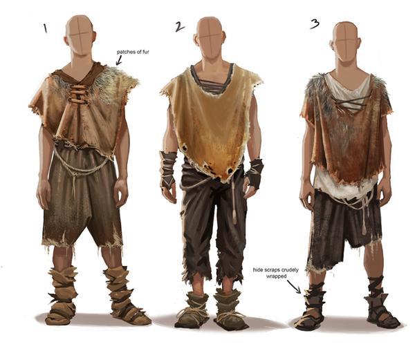 Виды одежды из шкур зверей