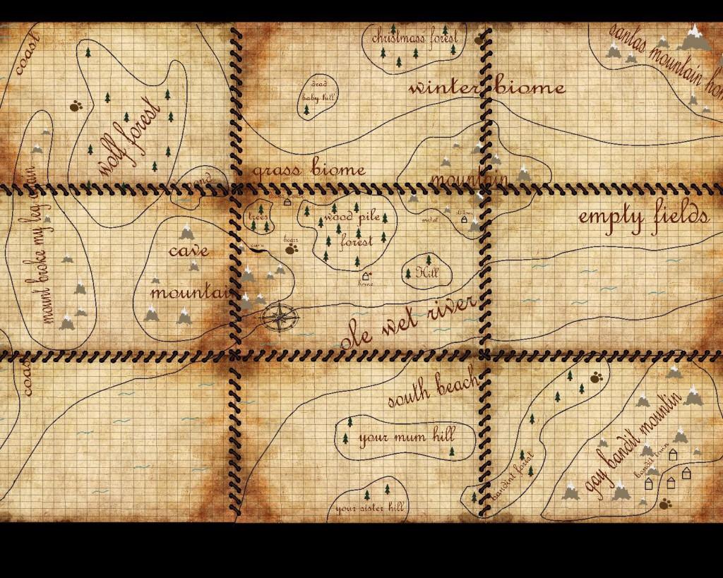 Заполненная карта