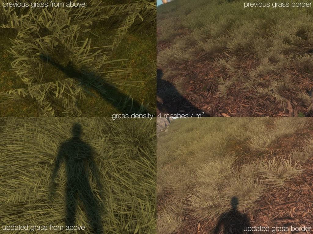 Измененная трава