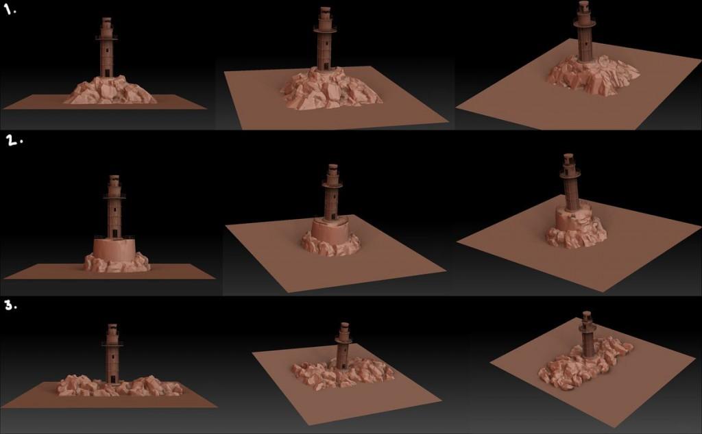 Основания для маяка