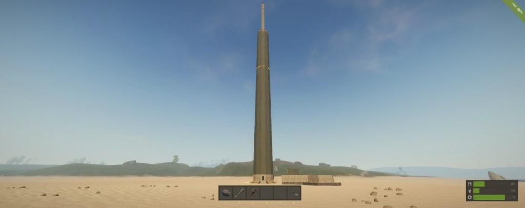 Башня Rust Planet