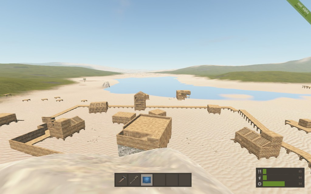 Cagetown! Right before the wall was completed and half the residents got raided. - Imgur
