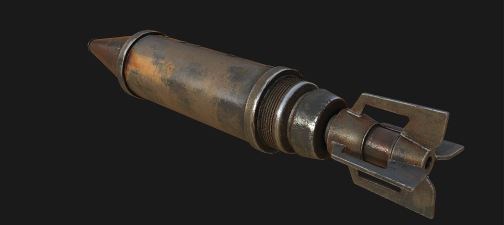Снаряд для ракетницы №1