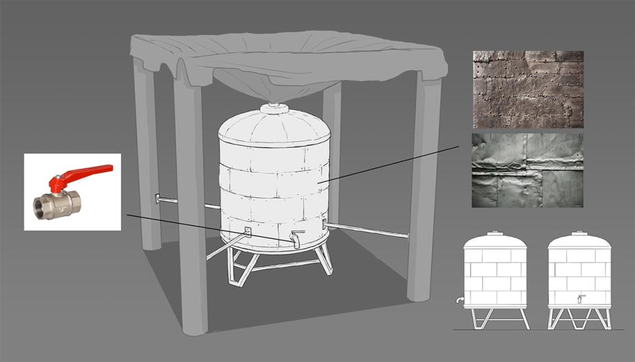 Резервуар для воды 1