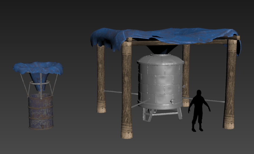 Резервуар для воды 2