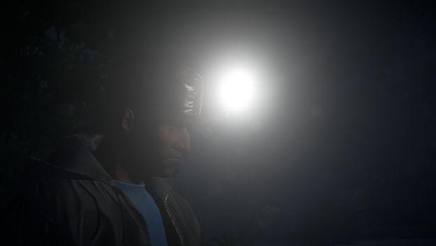 Бейсболка шахтера, свет в ночи