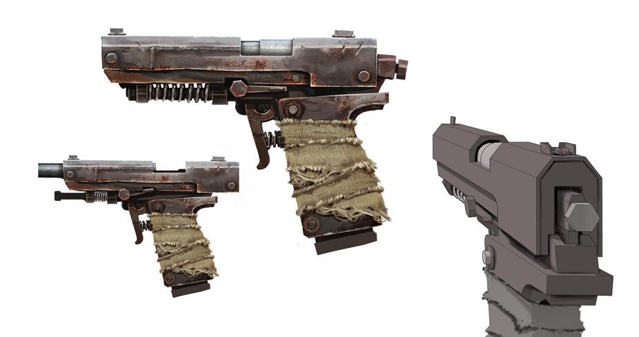 P250 с отдачей Desert Eagle