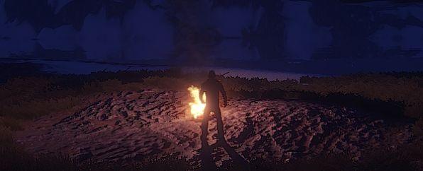 Огонь теперь