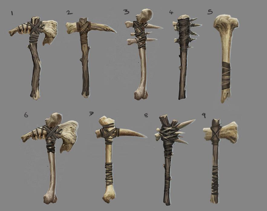 Оружие из костей