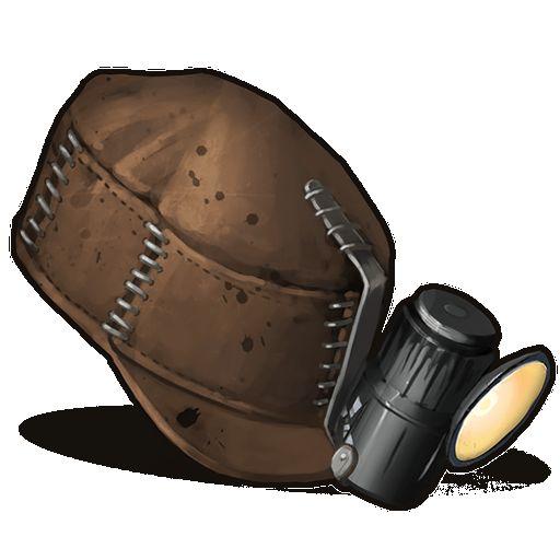 Иконка каски шахтера