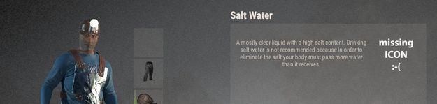 Соленая вода