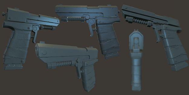 Пистолет типа P250