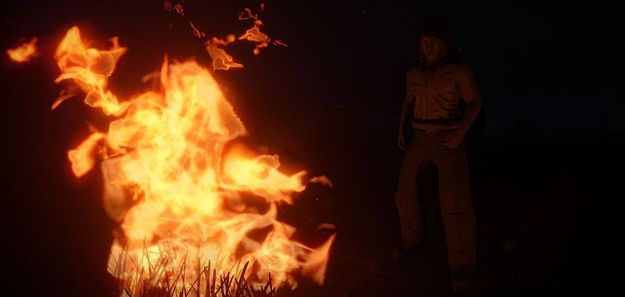 Работа над огнем