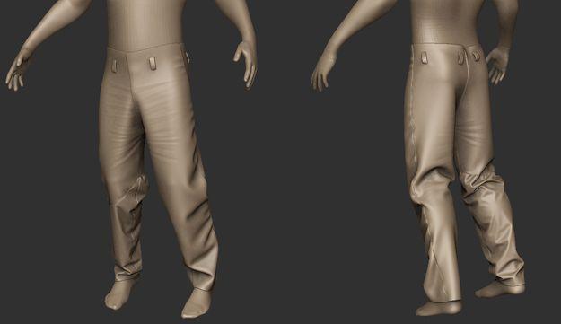 Изображение концепта новых штанов
